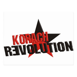 Carte Postale Révolution de Korach