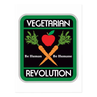 Carte Postale Révolution végétarienne