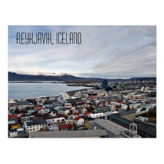 Carte Postale Reykjavik, Islande