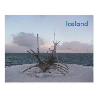 Carte postale : Reykjavik Islande