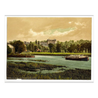 Carte Postale Richmond, hôtel d'étoile et de jarretière, Londres