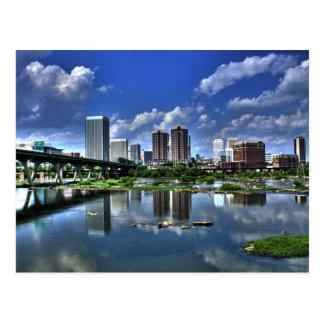 Carte Postale Richmond le long de la rivière
