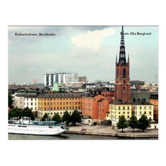 Carte Postale Riddarholmen, Stockholm, Ola de photo…