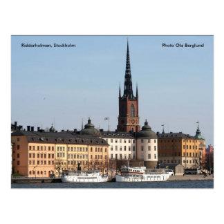 Carte Postale Riddarholmen, Stockholm, photo…
