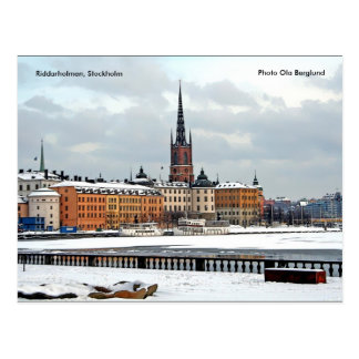 Carte Postale Riddarholmen, Stockholm, photo O…