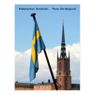 Carte Postale Riddarkyrkan, Stockholm, photo Ol…