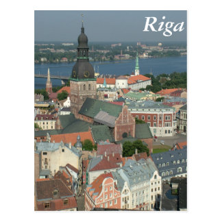 Carte Postale Riga, Lettonie