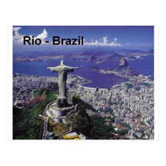 Carte Postale Rio de Janeiro du Brésil (St.K.)