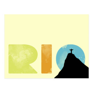 Carte Postale Rio frais