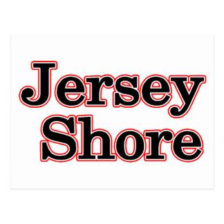 Carte Postale Rivage du Jersey