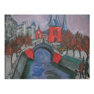 Carte Postale Rive rouge d'Ernst Kirchner Elisabeth, Berlin
