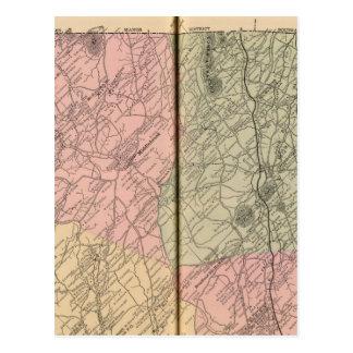 Carte Postale Riverheads, le comté d'Augusta