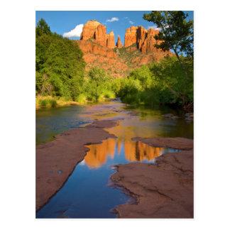 Carte Postale Rivière au croisement rouge de roche, Arizona