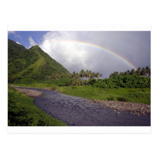 Carte Postale Rivière dans Teahupoo, Tahiti