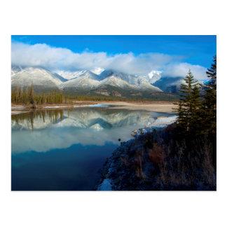 Carte Postale Rivière d'Athabasca, parc national de jaspe,