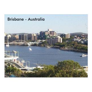 Carte Postale Rivière de Brisbane, Brisbane, Queensland,