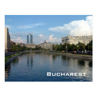 Carte Postale Rivière de Dambovita - Bucarest