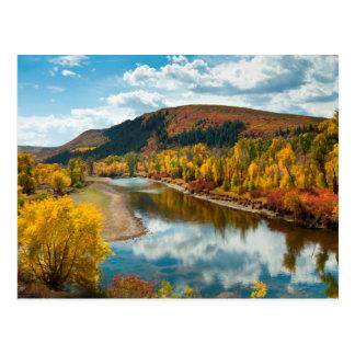 Carte Postale Rivière de Yampa en automne