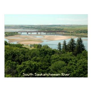 Carte Postale Rivière du sud de Saskatchewan