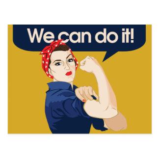 Carte Postale Rivoir de Rosie nous pouvons le faire