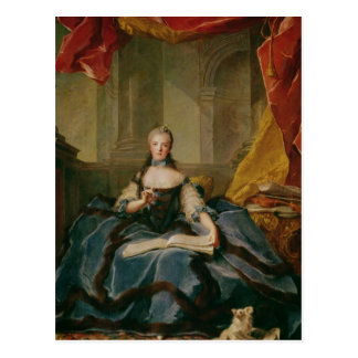 Carte Postale Robe de Madame Adelaïde De France devant le