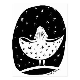Carte Postale Robe des étoiles