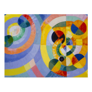Carte Postale Robert Delaulay - formes circulaires