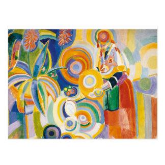 Carte Postale Robert Delaunay - le grand Portugais