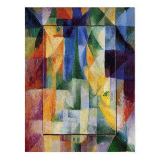 Carte Postale Robert Delaunay - Windows simultané sur la ville