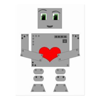 Carte Postale Robot