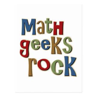 Carte Postale Roche de geeks de maths