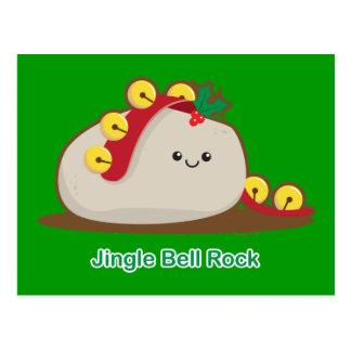 Carte Postale Roche de Jingle Bell