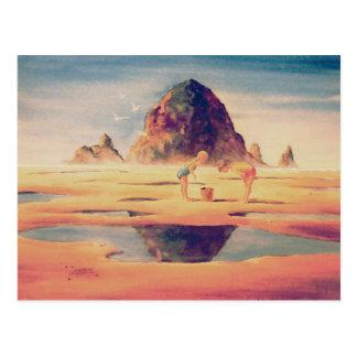 Carte Postale ROCHE de MEULE DE FOIN par SHARON SHARPE