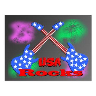 Carte Postale Roches 4ème des Etats-Unis