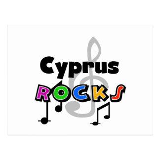 Carte Postale Roches de la Chypre