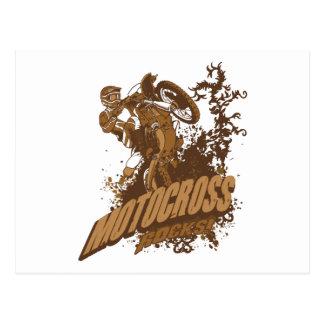 Carte Postale Roches de motocross !