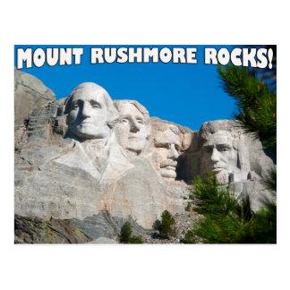 Carte Postale Roches du mont Rushmore ! Le mont Rushmore, le