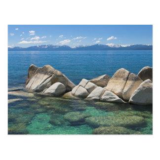 Carte Postale Roches est de rivage, le lac Tahoe…