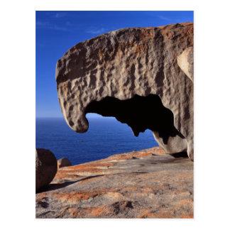 Carte Postale Roches remarquables, île de kangourou, Australie