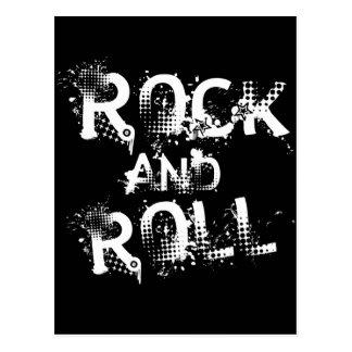 Carte Postale Rock