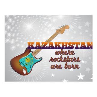 Carte Postale Rockstars sont né dans Kazakhstan