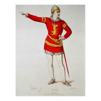 Carte Postale Rodrigo, Le Cid'de Corneille de '