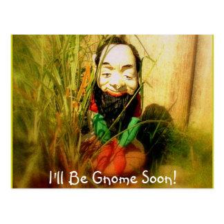 Carte Postale Roi de gnome