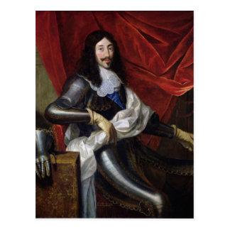 Carte Postale Roi de Louis XIII de la France et de la Navarre