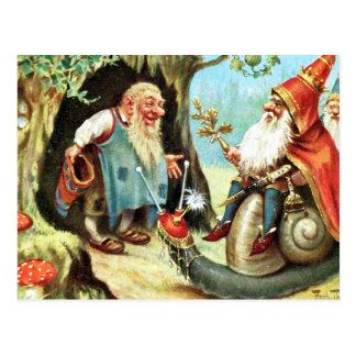 Carte Postale Roi des gnomes
