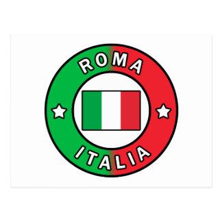Carte Postale Roma Italie