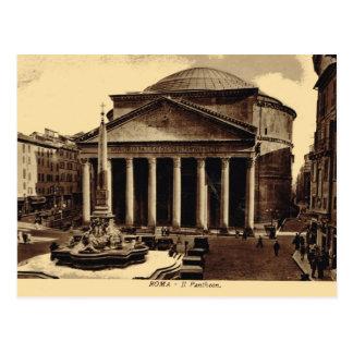 Carte Postale Roma, Panthéon