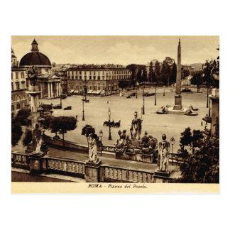 Carte Postale Roma, Piazza del Paulo