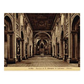 Carte Postale Roma, St John intérieur dans Lateran