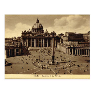Carte Postale Roma, Vatican, le carré de St Peter